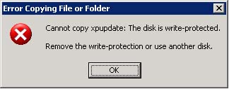 Memperbaiki Flash Disk yang mengalami Write Protected